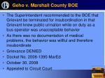 geho v marshall county boe23
