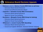 grievance board decision appeals6