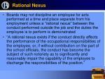 rational nexus