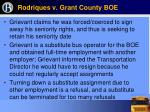 rodriques v grant county boe