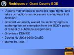 rodriques v grant county boe53