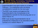 sb 1006 hiring terminating transferring and reassigning school personnel61