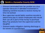 smith v kanawha county boe