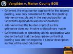 vangilder v marion county boe49