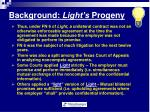 background light s progeny