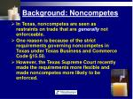 background noncompetes