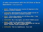 a radio conversation with the us chief of naval operations urban legend 2