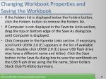changing workbook properties and saving the workbook13