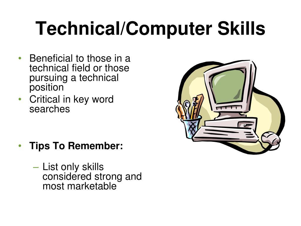 Technical/Computer Skills