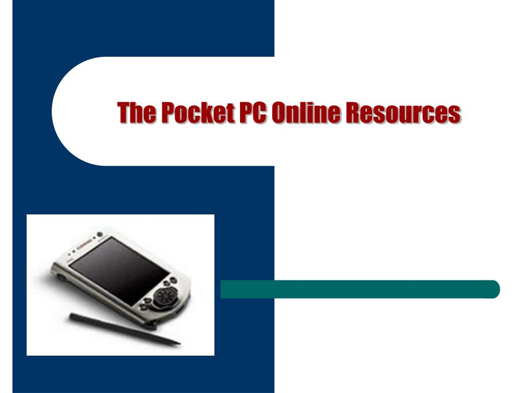 The Pocket PC Online Resources