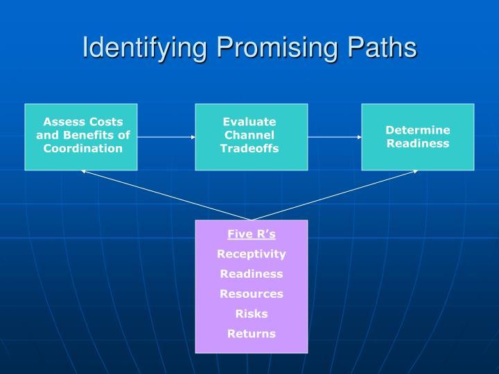 Identifying Promising Paths