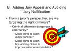 b adding jury appeal and avoiding jury nullification62