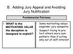 b adding jury appeal and avoiding jury nullification64