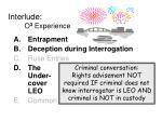 interlude o 3 experience