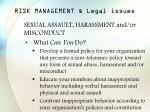 risk management legal issues36