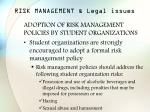 risk management legal issues40