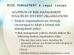 risk management legal issues41