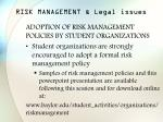 risk management legal issues42