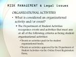 risk management legal issues9