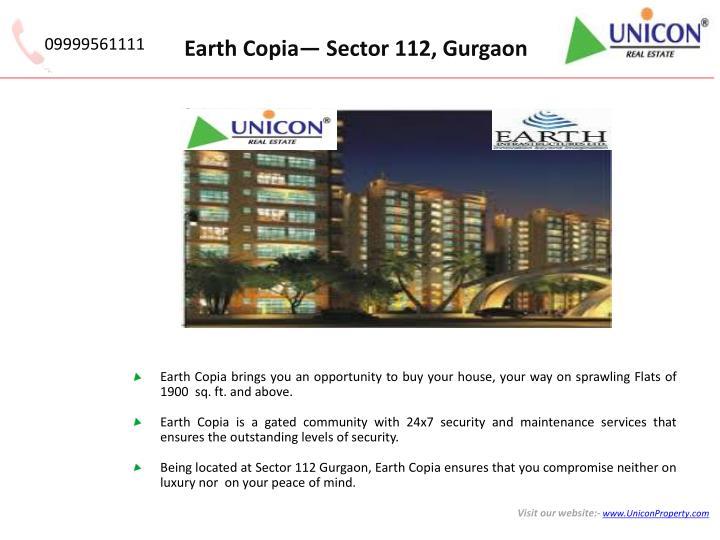 Earth copia sector 112 gurgaon