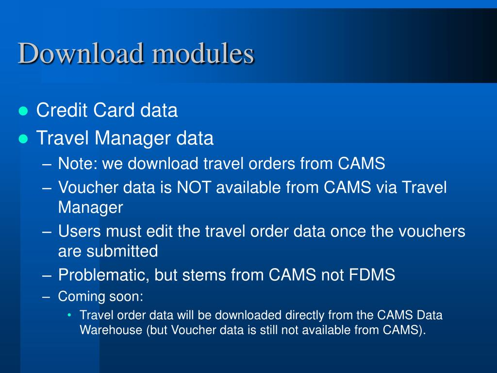 Download modules