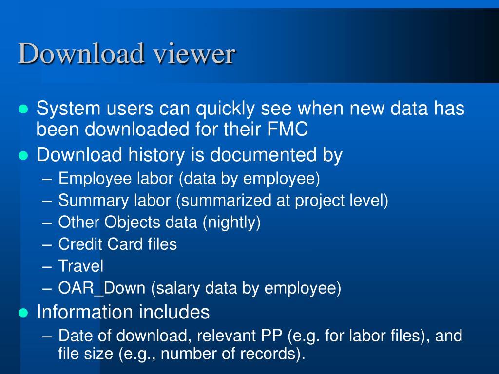 Download viewer