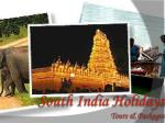 south india holidays tours packages