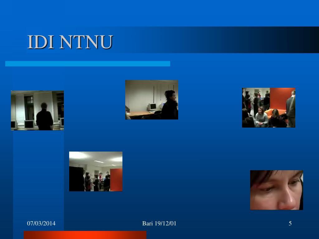 IDI NTNU