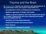 trauma and the brain53