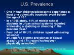 u s prevalence
