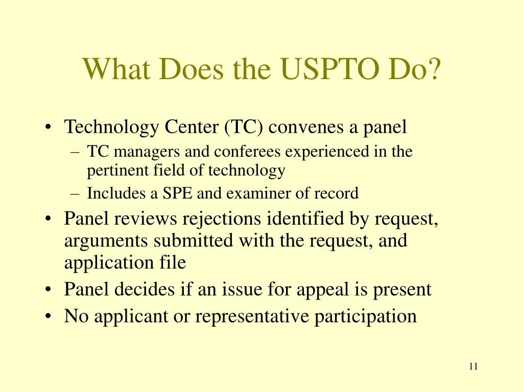 What Does the USPTO Do?