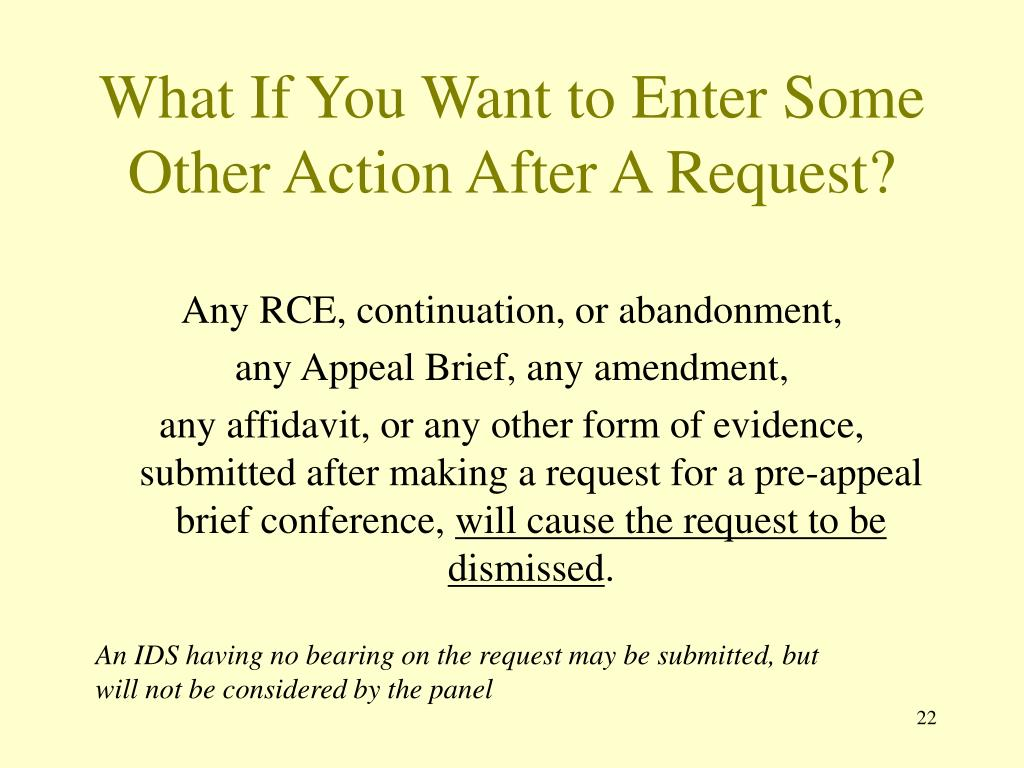What If You Want to Enter Some Other Action After A Request?