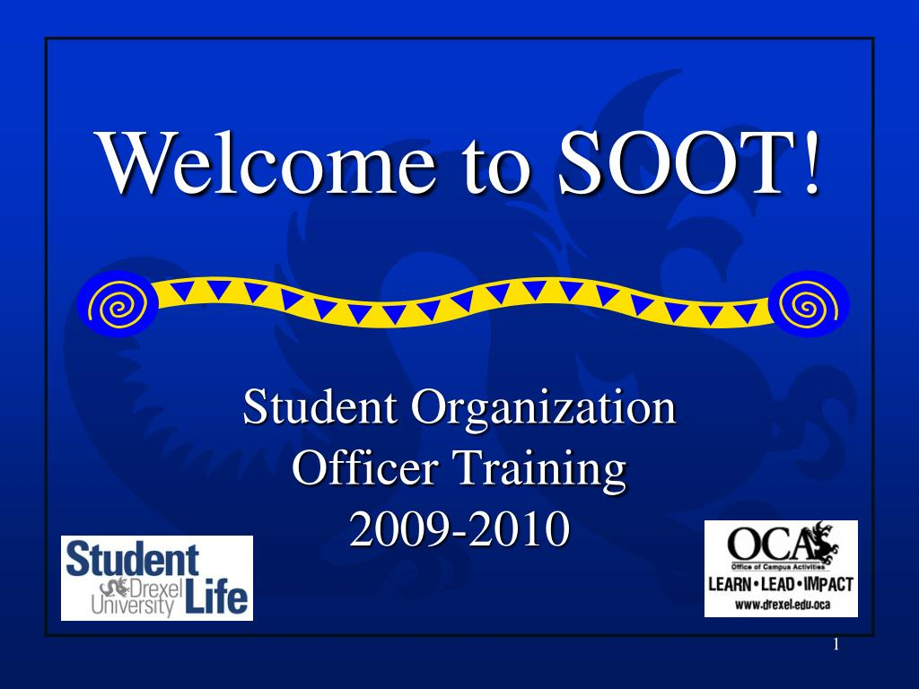 student organization officer training 2009 2010 l.
