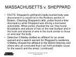 massachusetts v sheppard4