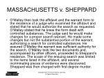 massachusetts v sheppard6