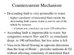 countercurrent mechanism