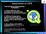assessment of cipn2
