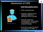 assessment of cipn7