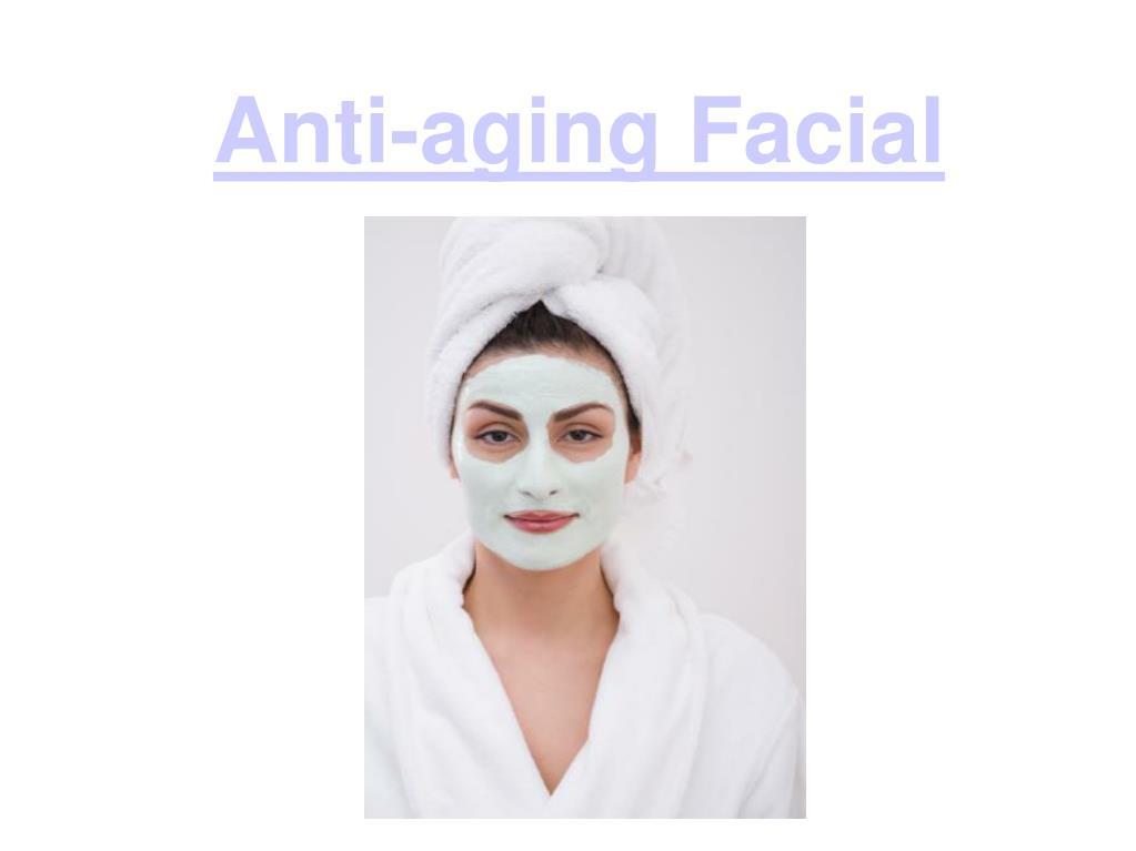 anti aging facial l.