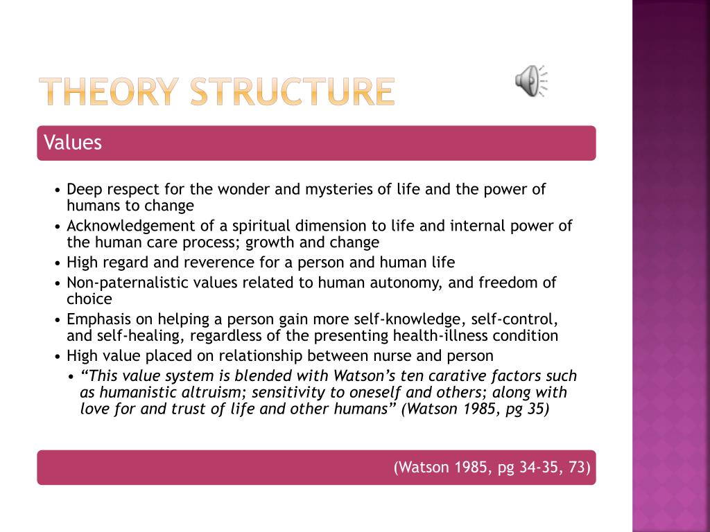 Theory Structure