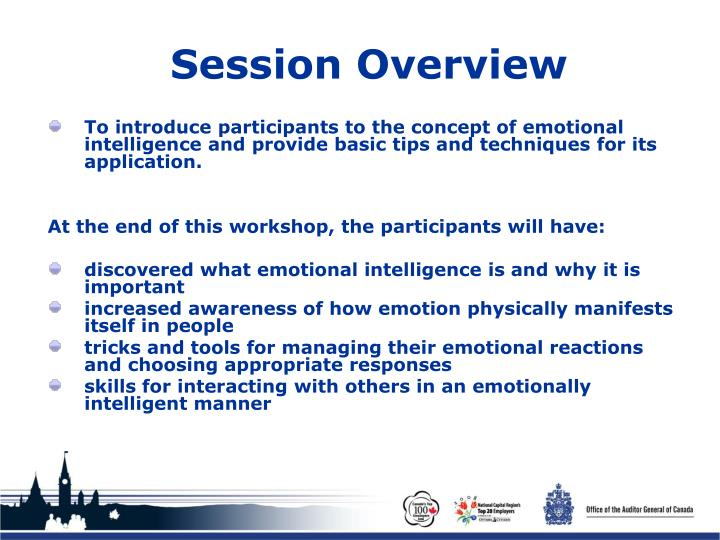 Session overview