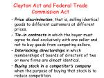 clayton act and federal trade commission act2