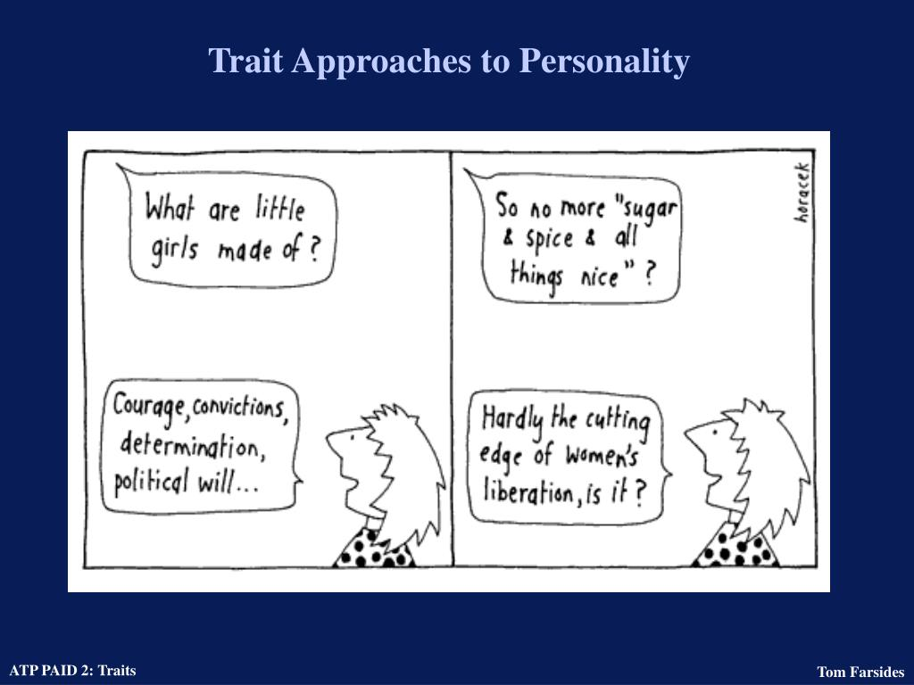 trait approaches to personality l.