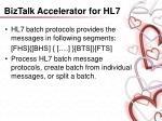 biztalk accelerator for hl729
