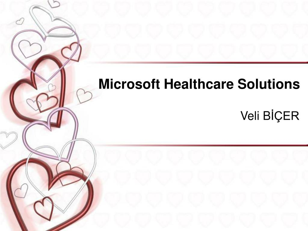 microsoft healthcare solutions