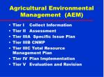 agricultural environmental management aem