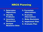 nrcs planning