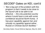 secdef gates on kei cont d