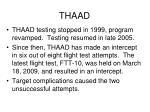 thaad