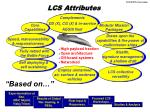 lcs attributes